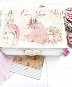 Unicorn Story Box - Cutie personalizata copii
